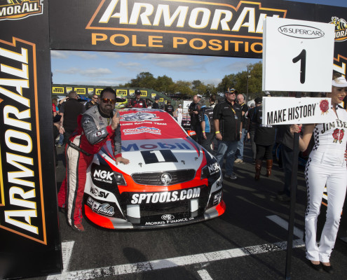 Pole Position Pukekohe Round 4, V8 Supercar Championship 2014